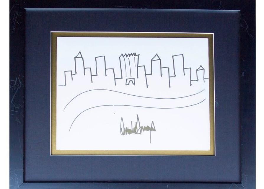 Рисунок Трампа продадут нааукционе