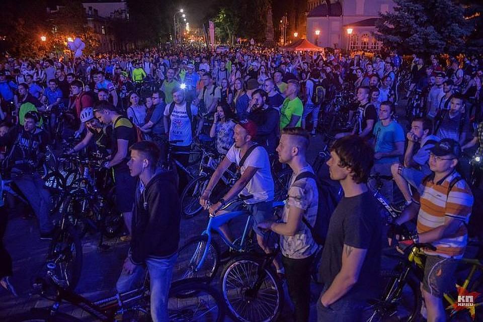 Мэрия Казани обнародовала детальный маршрут «Ночного велофеста»