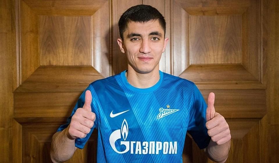 Столичное  «Динамо» арендовало футболиста «Зенита» Цаллагова