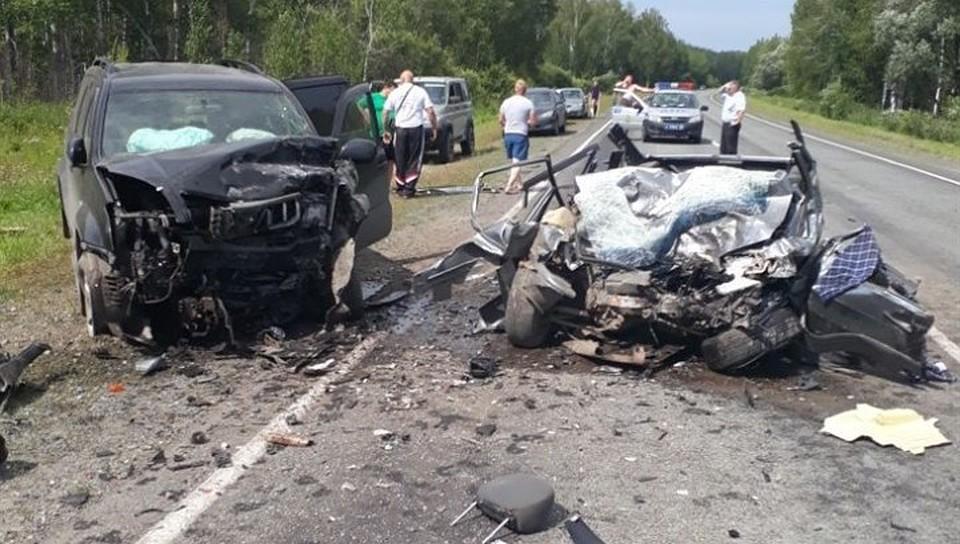 Два человека погибли вДТП вХилокском районе