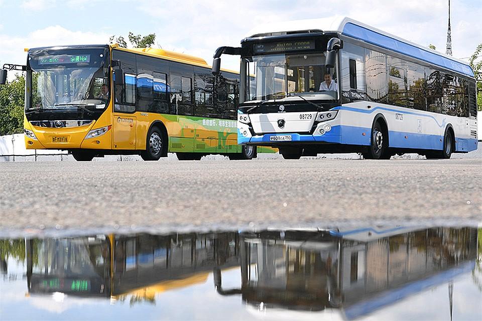 Москва откажется отзакупок дизельных автобусов с2021 года