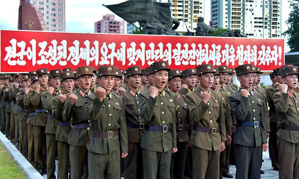 Неменее  3-х  млн.  жителей  КНДР решили добровольно вступить вармию