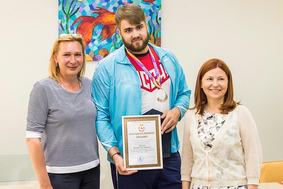 Серебряный мировой призер приехал вНижний Новгород изЛондона