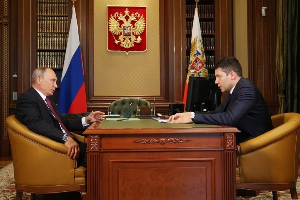 Путин поручил достроить Приморское кольцо