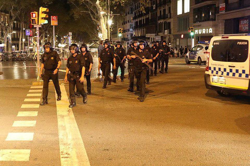МВД Каталонии подтвердило, что теракты вКамбрильсе иБарселоне связаны