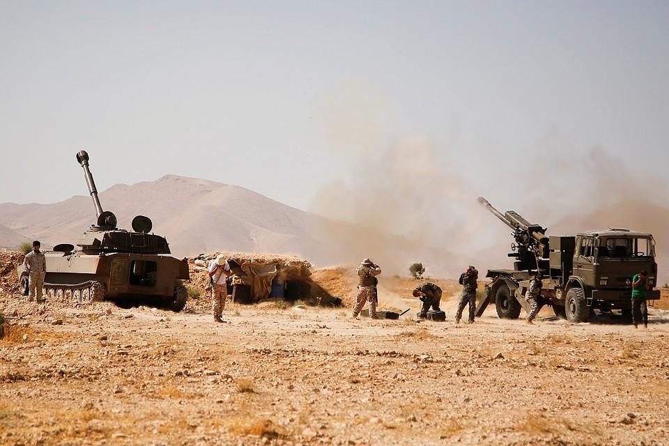 Армия Ливана объявила опрекращении огня награнице сСирией