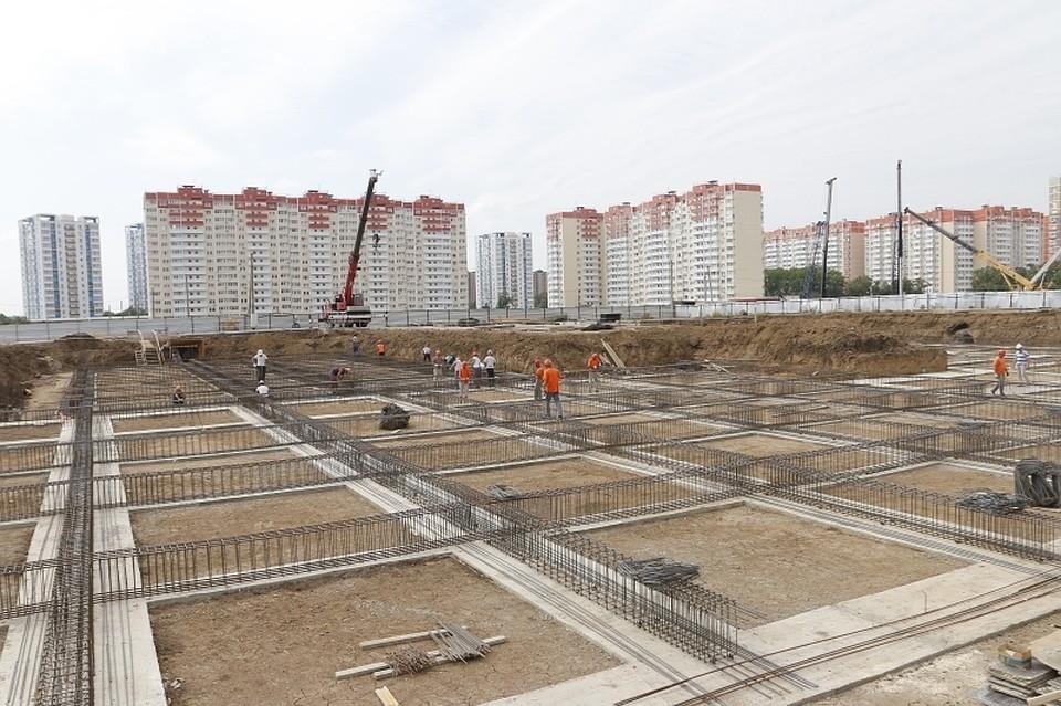 ВКраснодаре начали строительство новых детсада ишколы