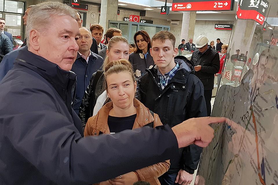 Собянин объявил озавершении строительства первого участка ТПК метро столицы