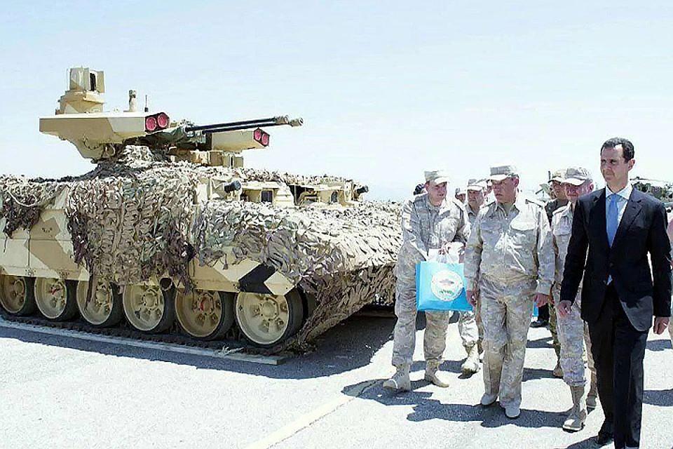 Израиль иСирия интересуются российскими «Терминаторами»— МинобороныРФ