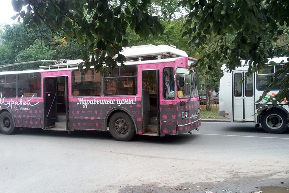 Неизвестный взял в заложники водителя троллейбуса в Нижнем Новгороде