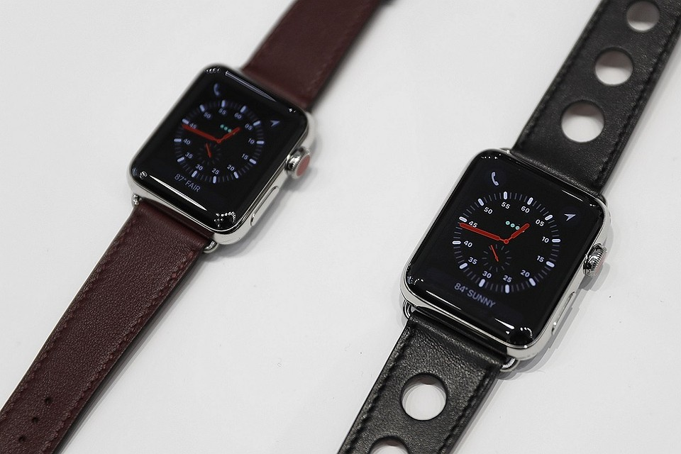 Обновленная версия Apple Watch, представленная на презентации 12 сентября