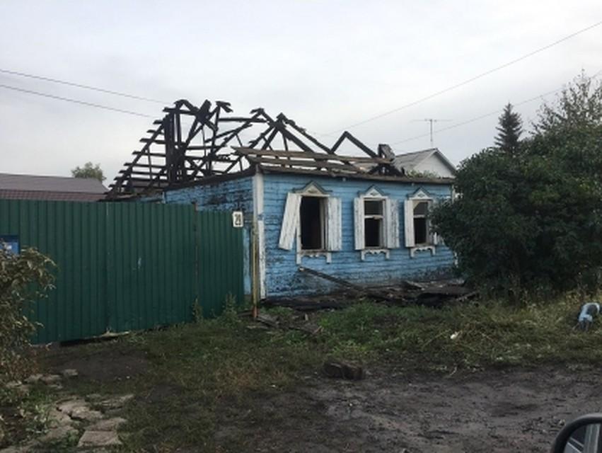 ВОмске впожаре в основном округе погибла семья