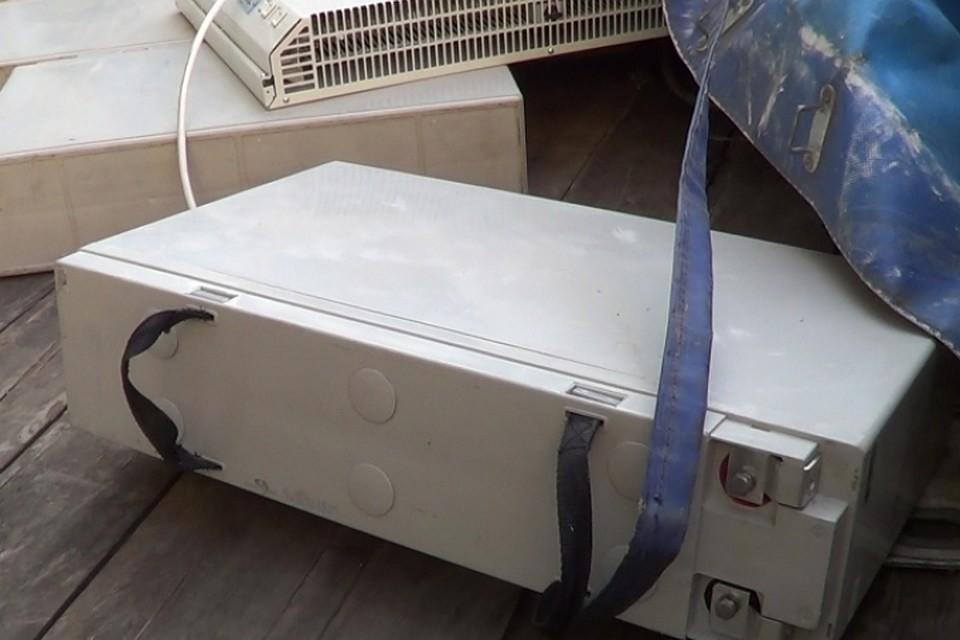 Полицейские задержали 2-х похитителей оборудования свышек мобильной связи