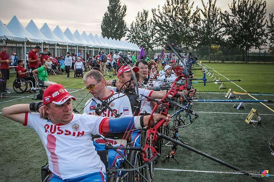 ПаралимпийцыРФ стали чемпионами мира пострельбе излука
