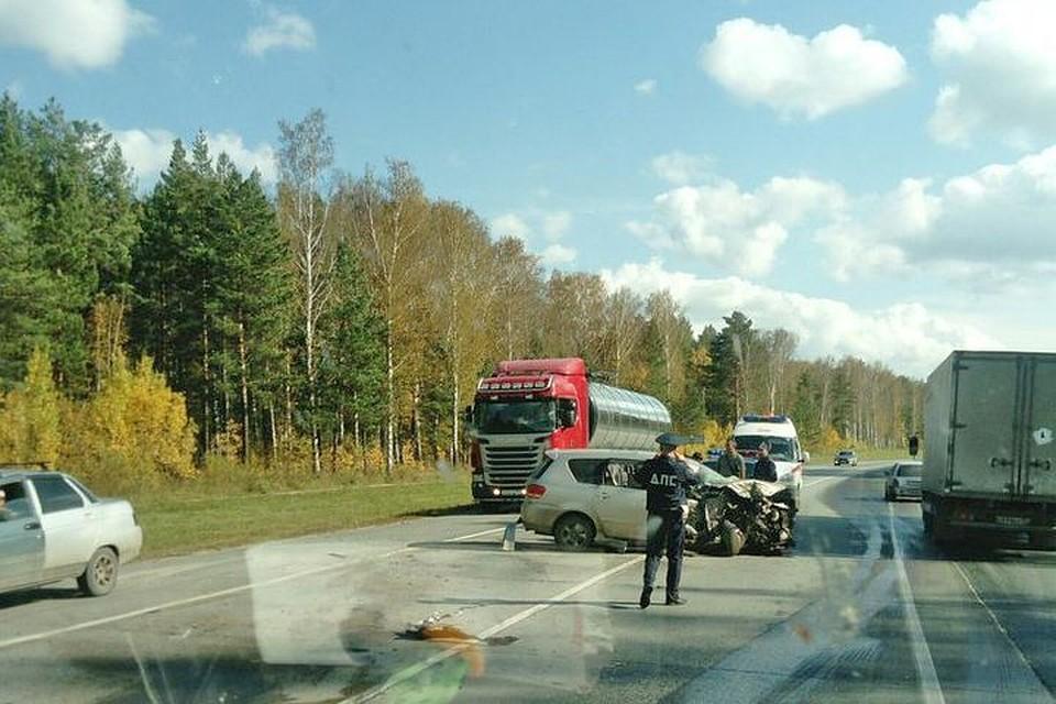 Выехавший навстречку шофёр умер под колёсами грузового автомобиля наСеверном объезде