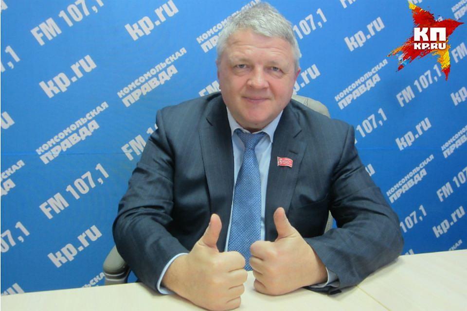 Владимир Владимиров претендует напост главы города Красноярска