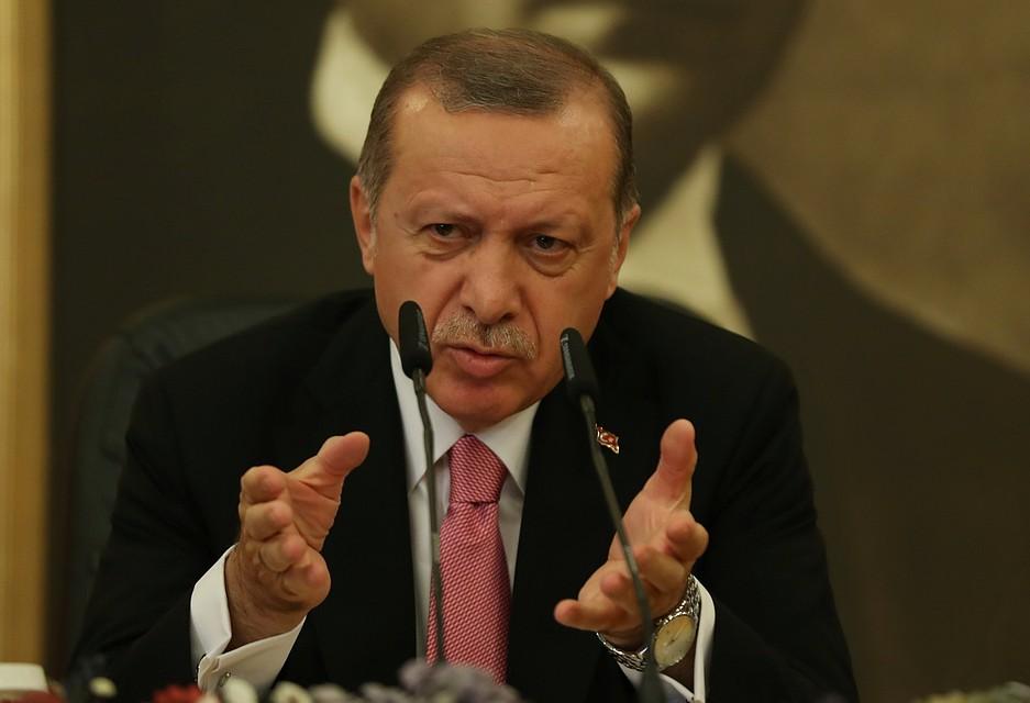 Эрдоган раскритиковал США заотказ реализовать оружие для его охраны