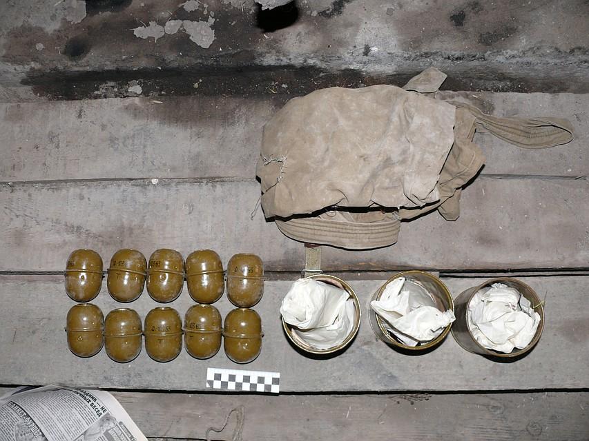 Двое свердловчан украли извоинской части боевые гранаты изапалы кним