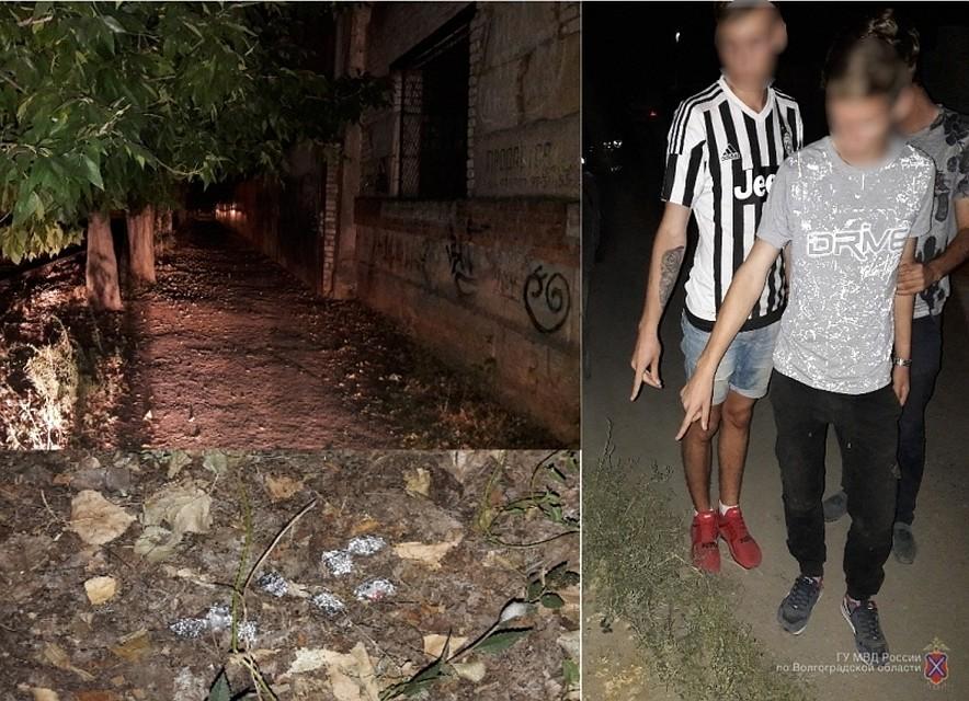 ВВолгограде задержали несовершеннолетних «закладчиков» наркотиков