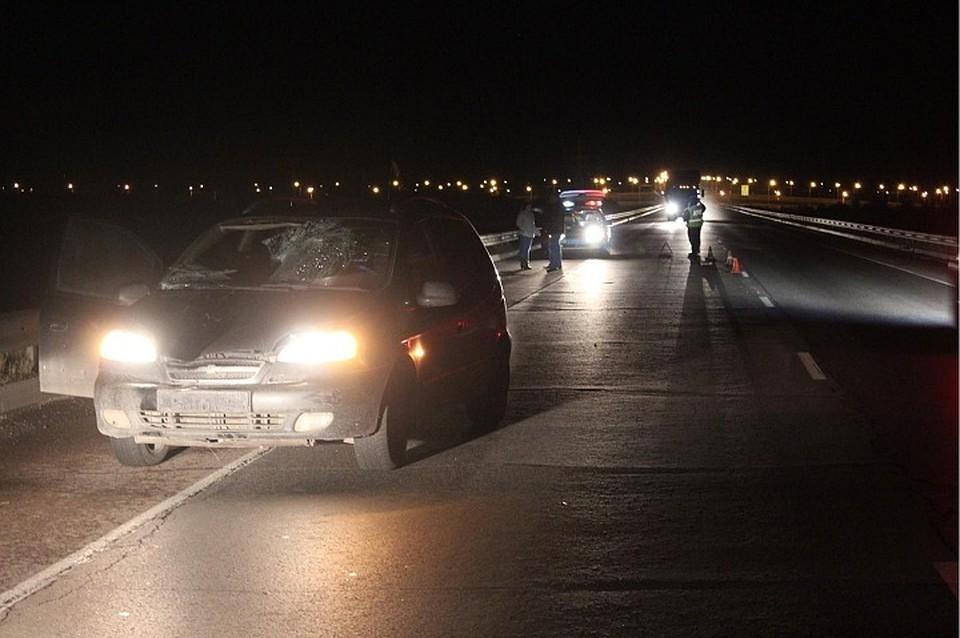 Наобходе Вологды под колесами иномарки умер 33-летний пешеход