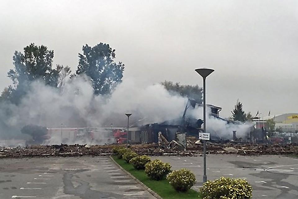 Вшведском городе Эребру неизвестные сожгли соборную мечеть