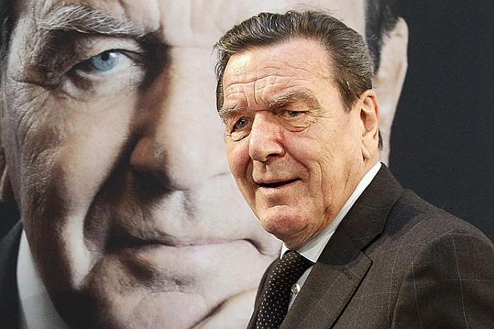 Герхарда Шредера утвердили кандидатом напост всовете начальников «Роснефти»