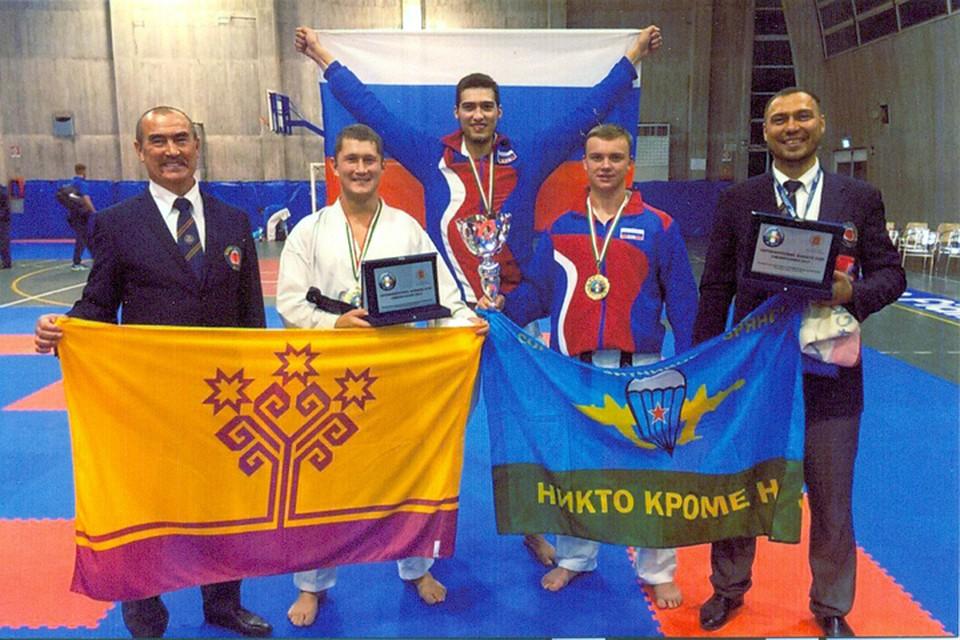 Брянский каратист принес победу сборной Российской Федерации намеждународном турнире