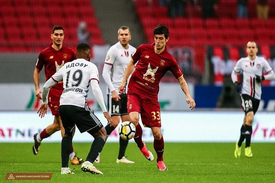 «Амкар» навыезде нанёс «Рубину» четвёртое поражение впремьер-лиге