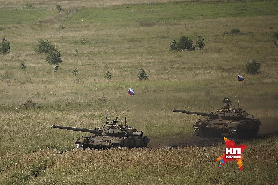 ВЧелябинской области завершились учения танковых войск
