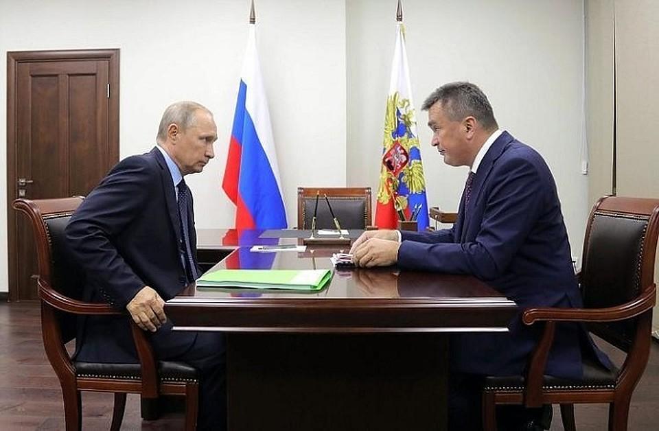 Путин отправил Миклушевского вотставку