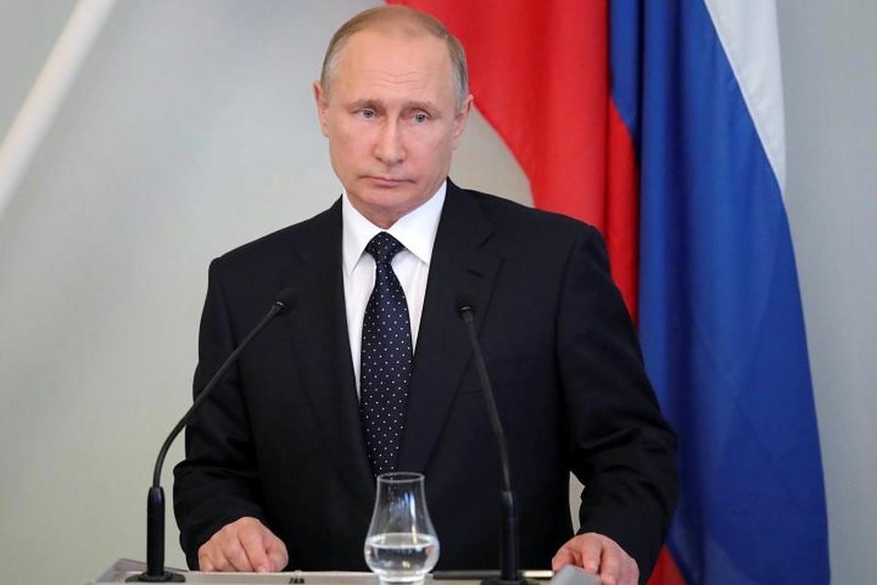 Замесяц рейтинг доверия граждан России Путину снизился