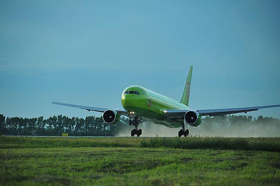 S7 Airlines осенью начнет полеты из столицы вБрянск