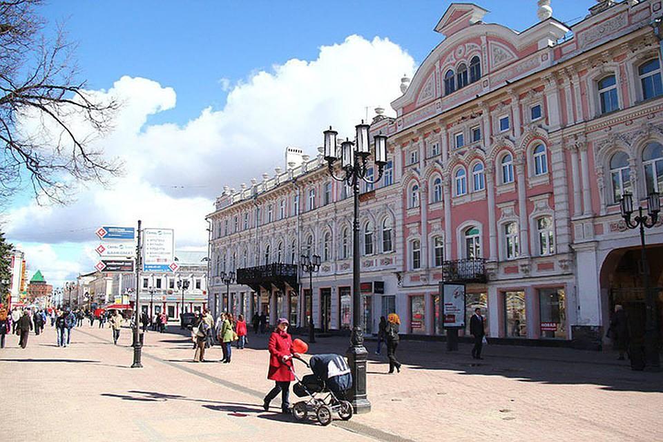 ВНижнем Новгороде утвердили концепцию облика улицы огромная Покровская