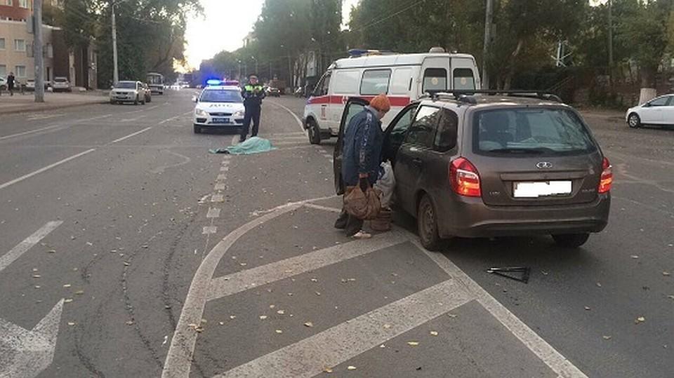 Появились фото жуткого ДТП натрассе Пермь— Краснокамск, где погибла девушка
