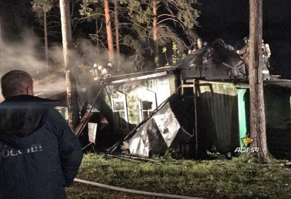 Огнеборцы ликвидировали огонь  натерритории Новосибирского зоопарка