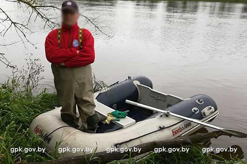 Гидролог изПольши незаконно  переплыл вБеларусь ради науки
