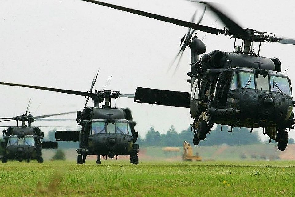 США перебросит вЛатвию 76 военных вертолетов