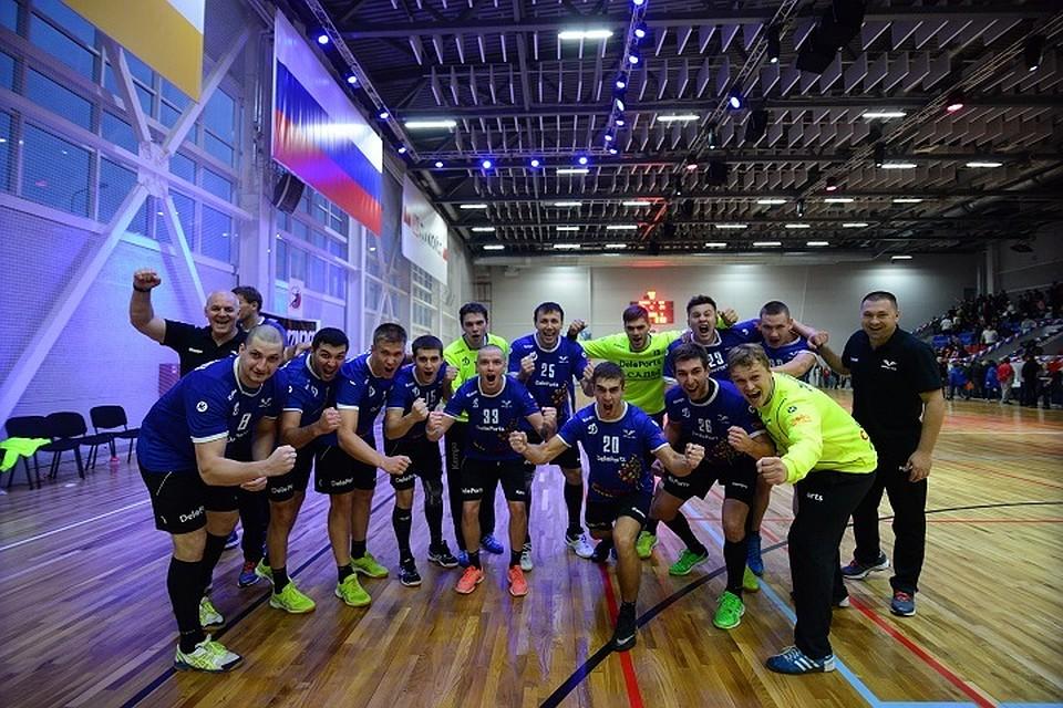 Гандболисты ставропольского «Динамо-Виктор» прошли вследующий круг Кубка вызова