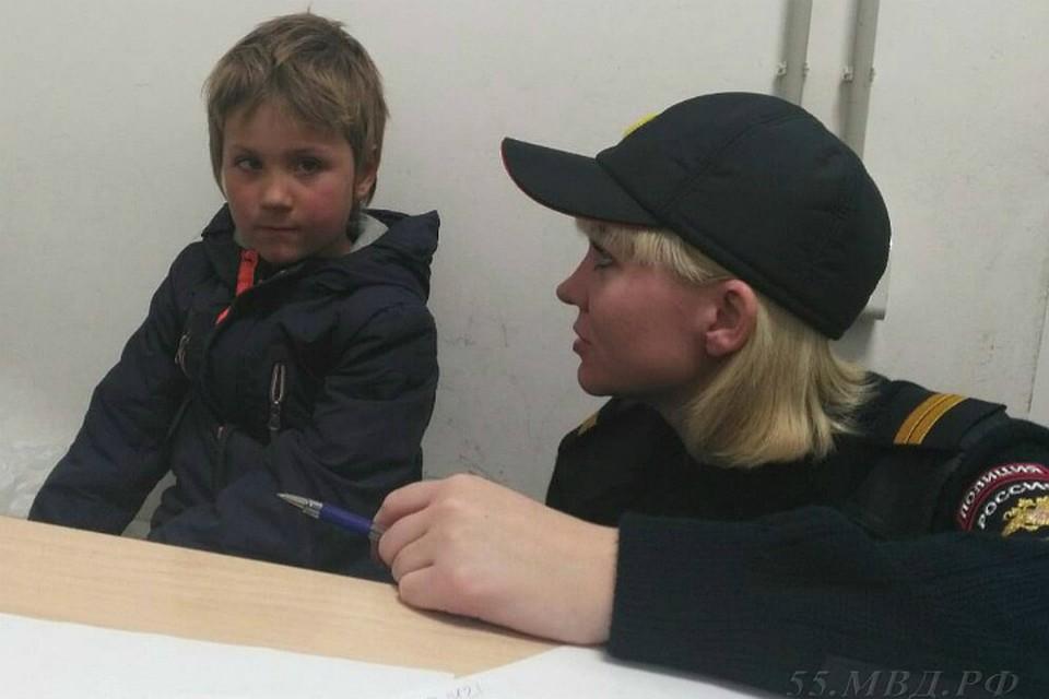 Милиция ищет родителей 6-летнего ребенка, приехавшего изНиколаевки вОмск