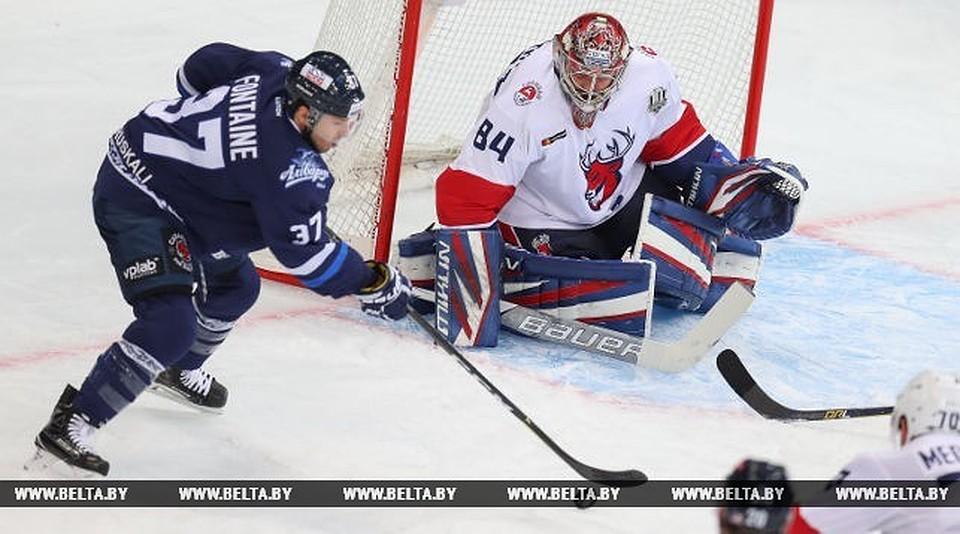 Хоккеисты минского «Динамо» победили нижегородское «Торпедо» вматче чемпионата КХЛ
