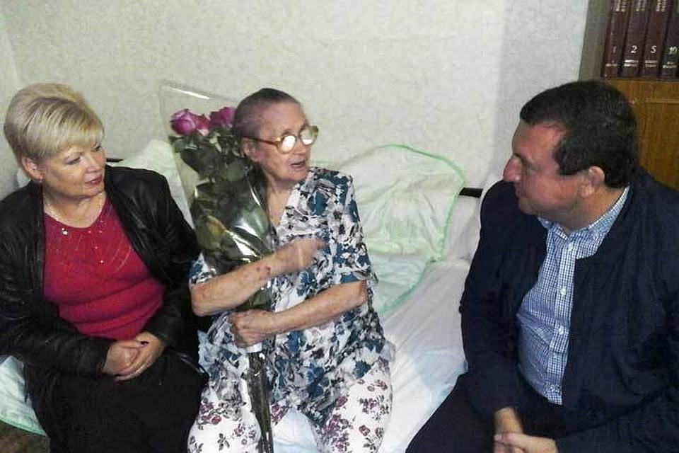 Одна изсамых престарелых жительниц Ставрополя отметила 106 день рождения