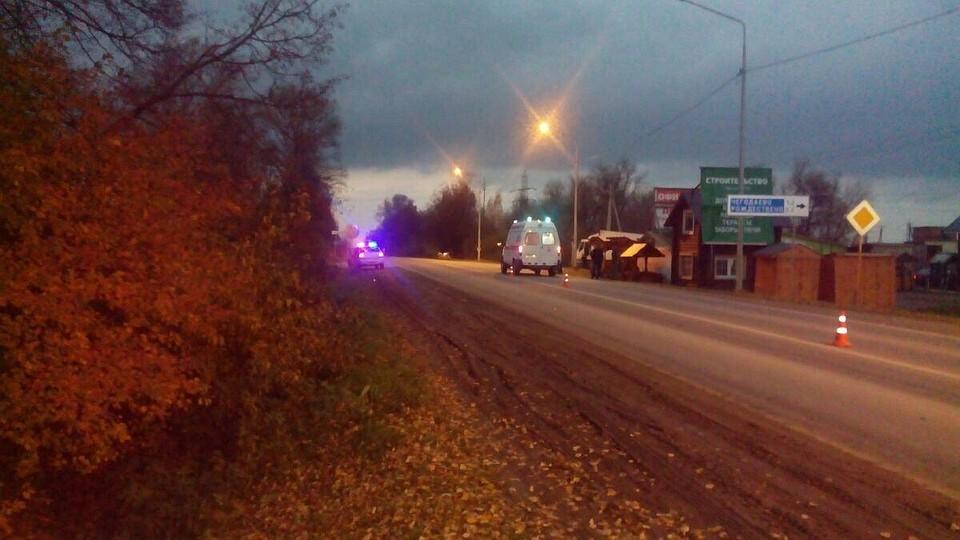 ВТульской области мотоциклист насмерть сбил женщину