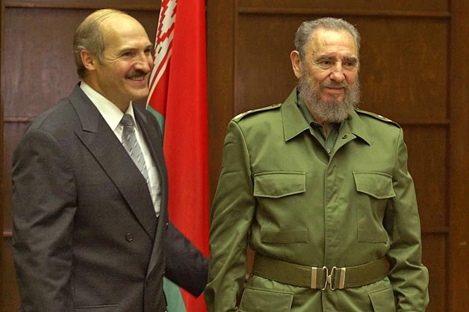 Лукашенко собрался наКубу поклониться могиле Фиделя Кастро