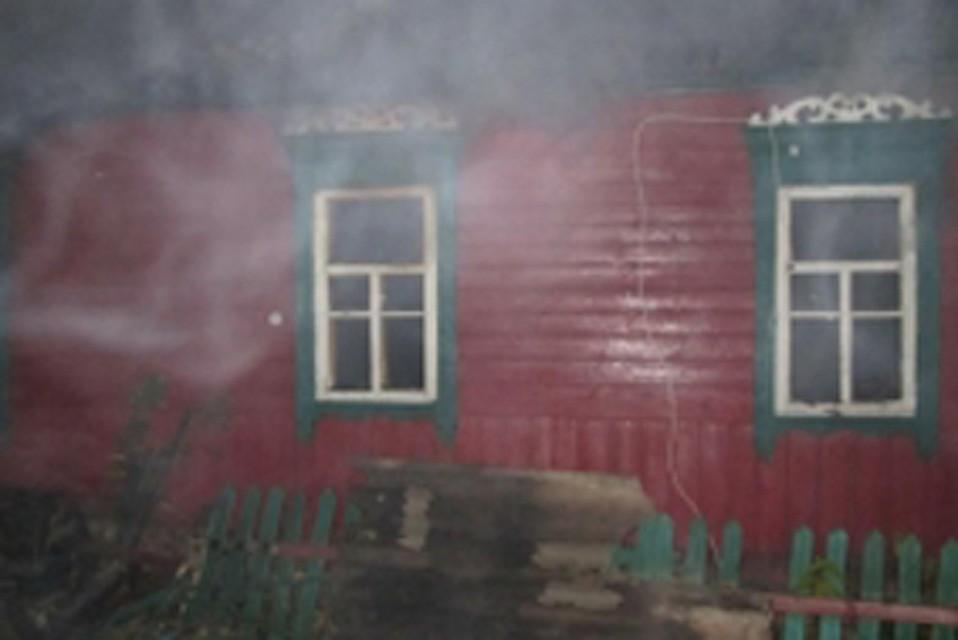 Вночном пожаре вКлимовском районе умер мужчина