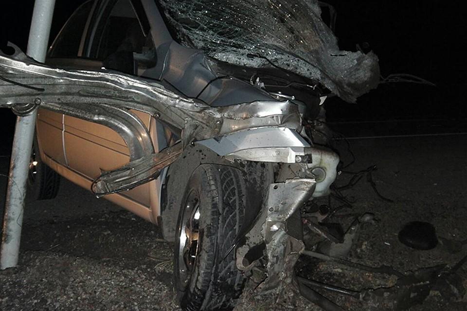 Лобовое столкновение машин вПриангарье: два человека погибли