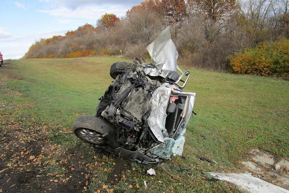 ВСтановлянском районе встолкновении с грузовым автомобилем умер шофёр «Хендай»