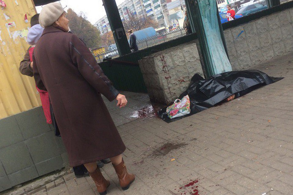 Смерть пенсионерки наавтобусной остановке