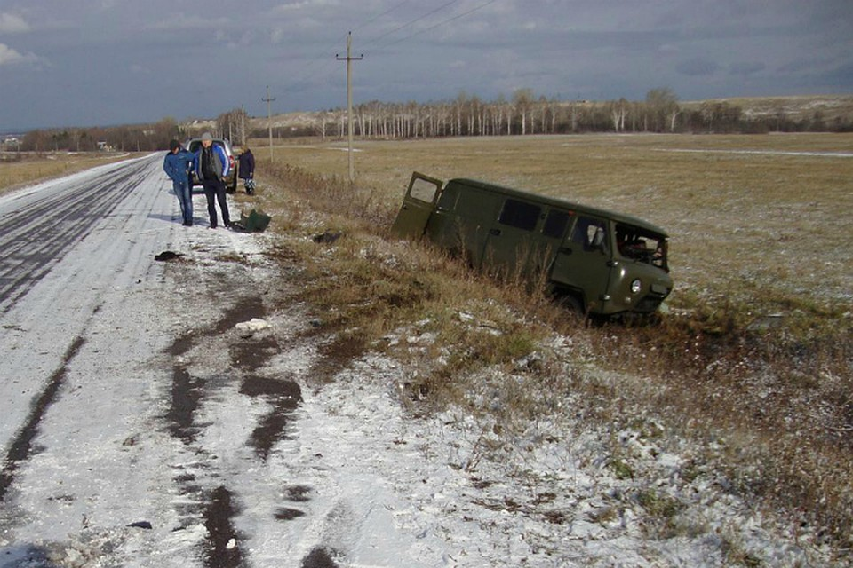 Cмертельное ДТП вБашкирии: столкнулись «Калина» иУАЗ