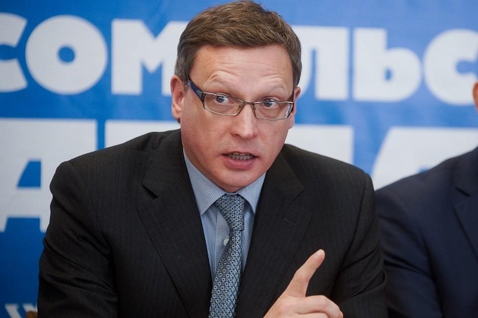 Бурков сходу занял 71-е место врейтинге губернаторов