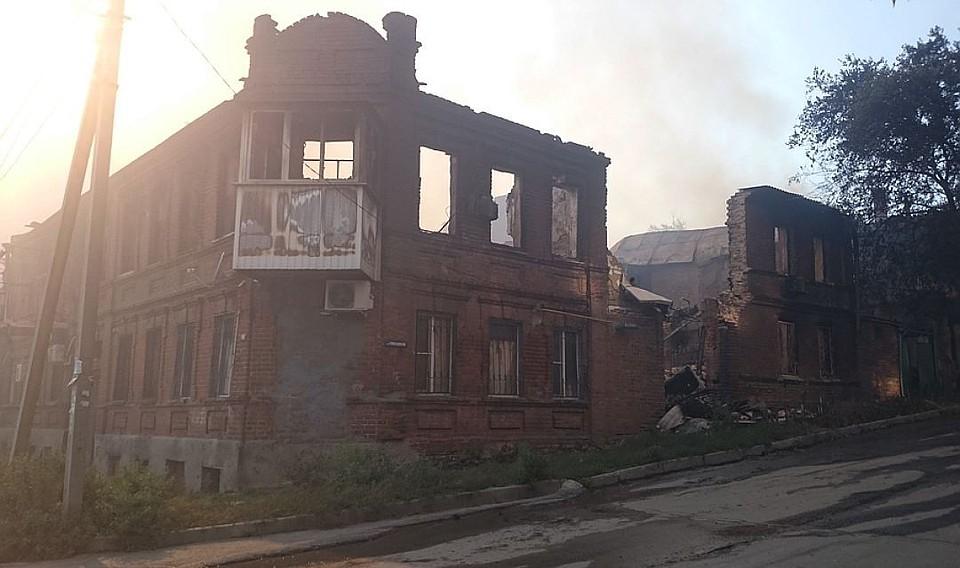 Для помощи пострадавшим отпожара вцентре Ростова собрали 14 млн руб